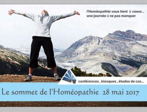 Sommet de l'homéopathie